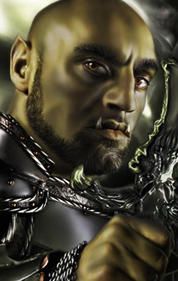 Alternative portrait for Dorn in Baldur's Gate